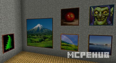 Скриншот Better Paintings Resource Pack 2