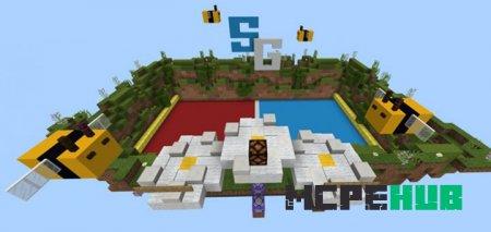 карта Sg Battle Bees для Minecraft Pe
