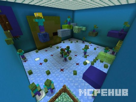 Скриншот Monsters Parkour 4