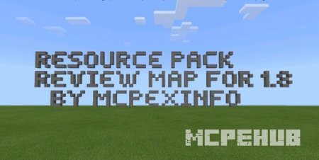 Скриншот Resource Pack Review Map 3