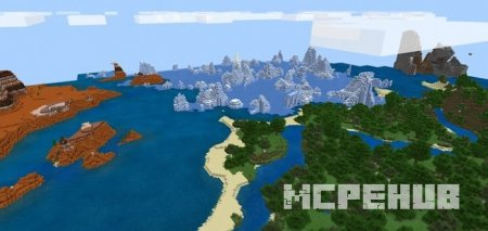 Скриншот The 4 Biomes At Spawn 1
