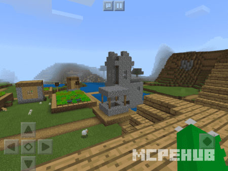 Скриншот Spawn On Village House Rooftop 1