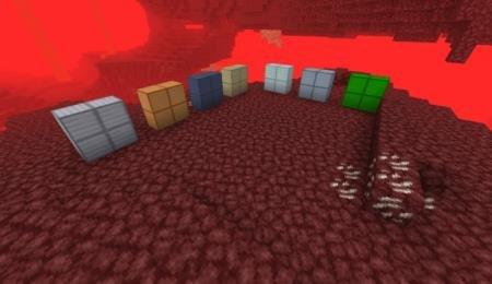 блоки руды