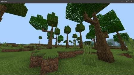 куча деревьев