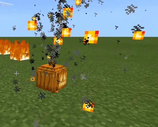 Взорвавшаяся бомба из тыквы