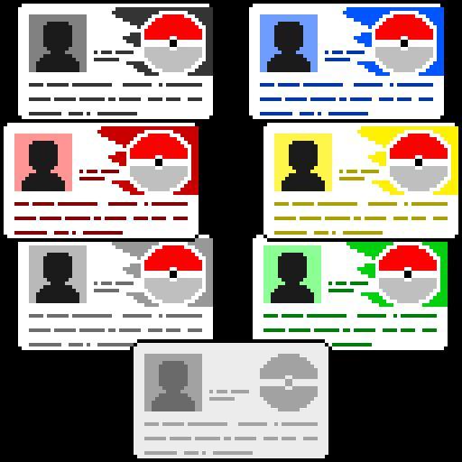 6 различных карт тренеров