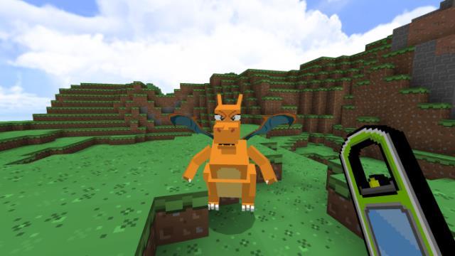 Покемон на траве