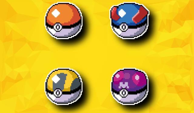 Четыре вида покеболов