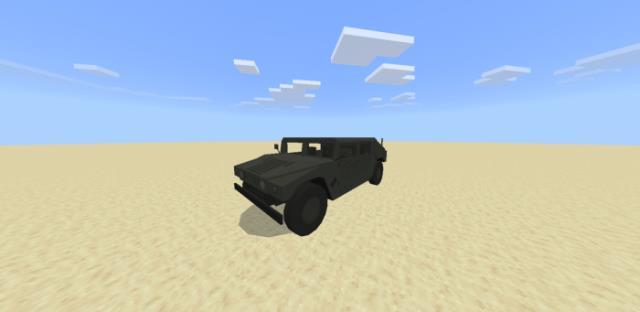 Хаммер в пустыне