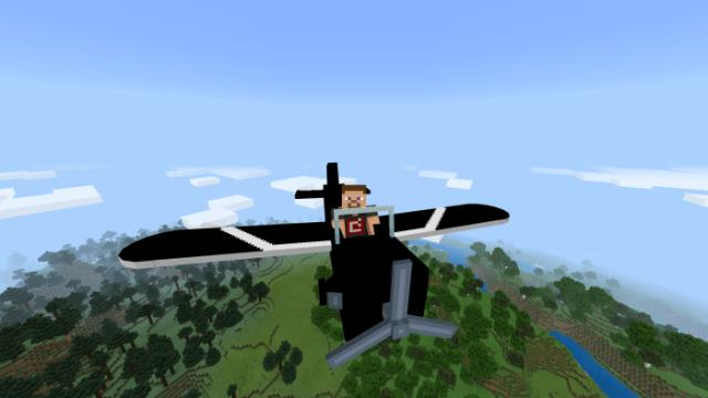 Игрок на самолете