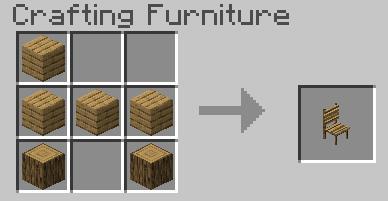 Деревянный стул крафт
